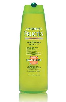 garnier fructis sleek shine shampoo and conditioner