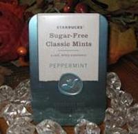 Starbucks Sugar Free Classic Mints Peppermint Shespeaks