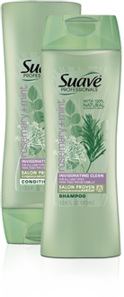Suave  Professional Rosemary and Mint shampoo