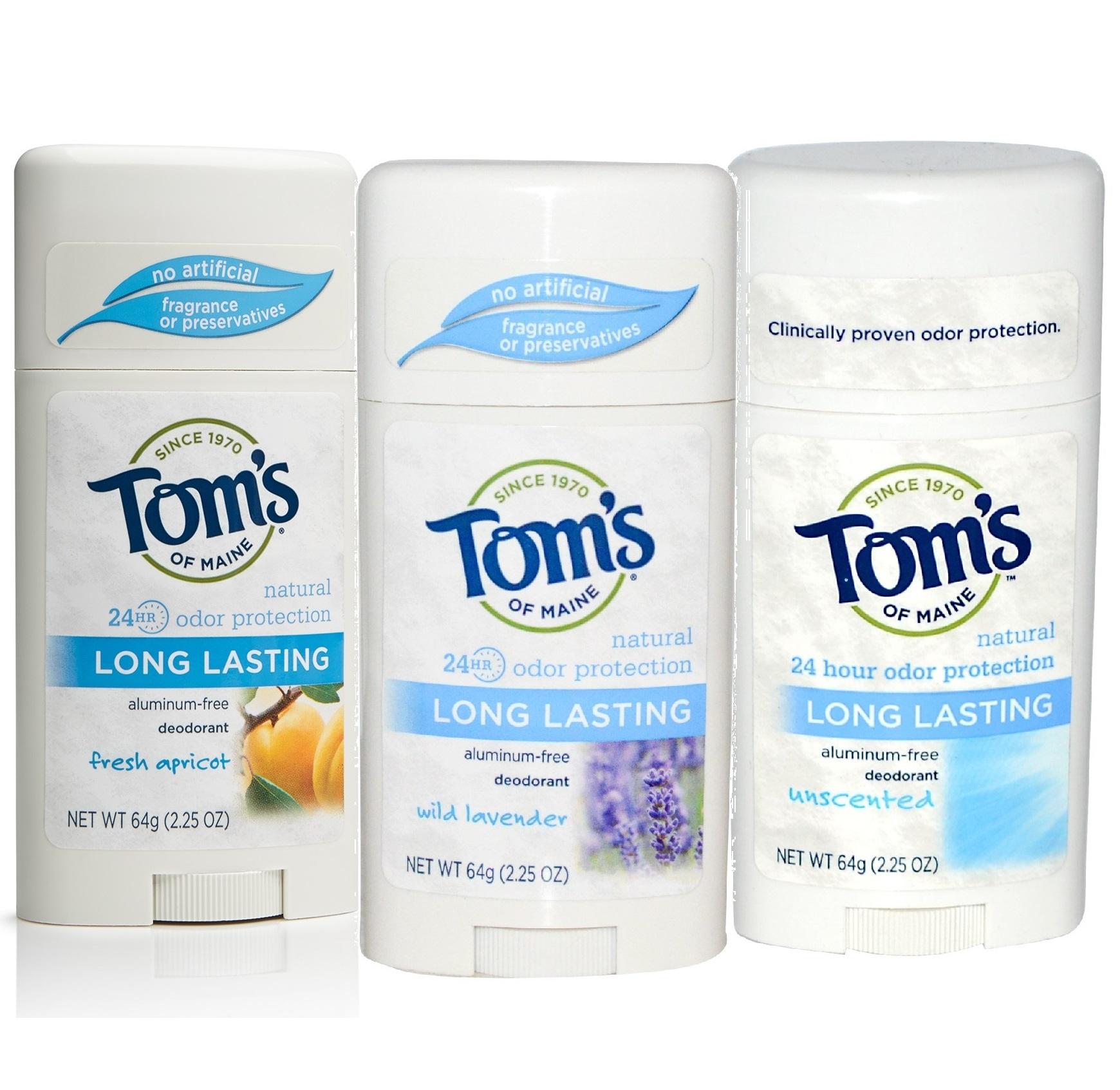 Tom's of Maine Long-Lasting Aluminum-Free Deodorant