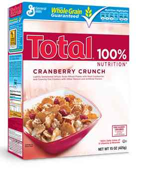 Cranberry Crunch Cereal