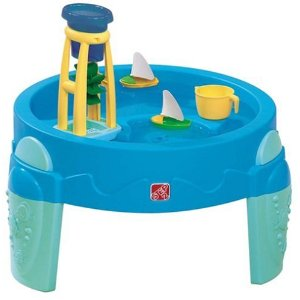 water wheel play table
